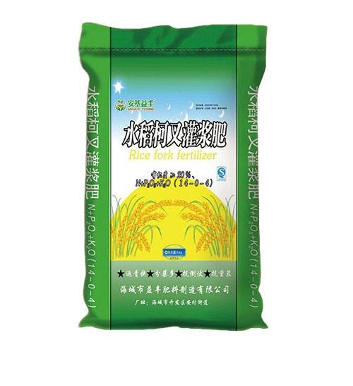 水稻柯叉灌浆肥